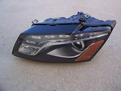 09-2012 Audi Q5 Xenon Drivers Side HID NO ADP Headlight Left OEM Headlamp Light