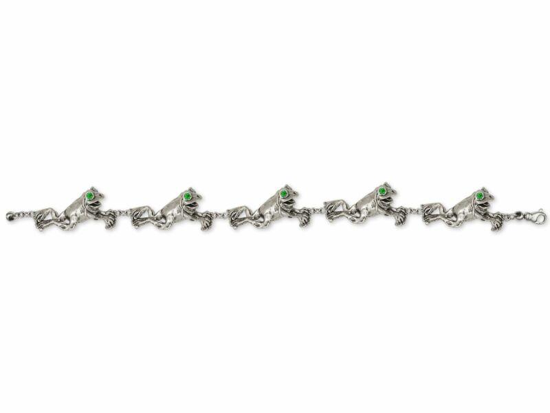 Frog Bracelet Jewelry Sterling Silver Handmade Frog Bracelet FG11-XBR