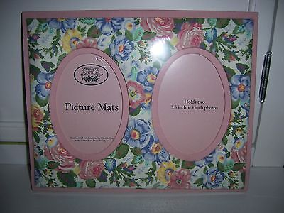 Laura Ashley Image = 'prety damned quick' Picture Mats FRAME Shabby French Paris Chic Cottage Country