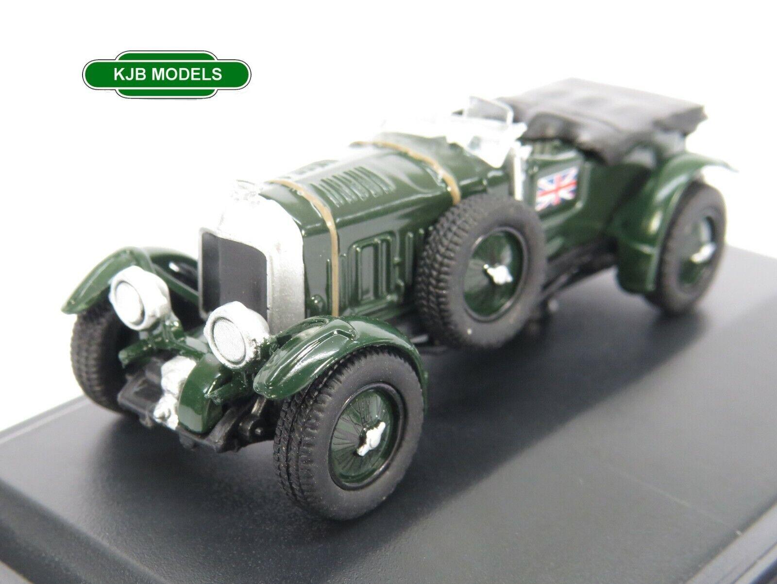 BNIB OO GAUGE OXFORD 1:76 76BB003 Bentley Blower British Racing Green Car