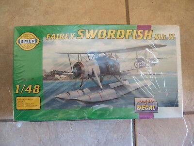 Sealed Fairey Swordfish MK II 2 smer 1/48 Scale Float Plane Model 818