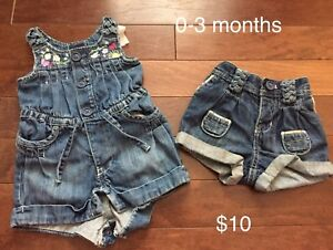 Baby Gap girl clothes 0-6 months