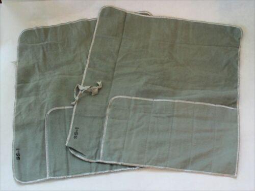Vintage Sterling Silver Flatware Storage Roll Up Bags - Set of 2