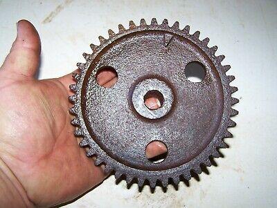 1 12 2hp Hercules Economy Hit Miss Gas Engine Cam Gear Steam Tractor Oiler