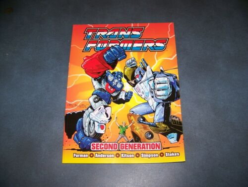 Transformers UK Second Generation Titan Books Collection