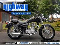 2003 Royal Enfield Thunderbird 350cc (217 Miles) with Warranty & 12 Month MOT