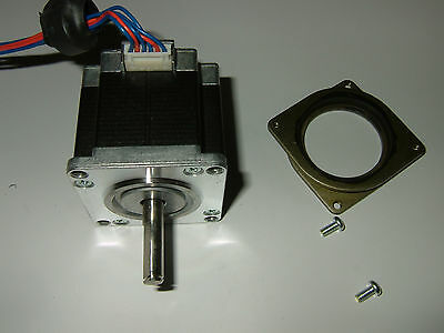 Nema 23 Stepper Motor Wflat - Cnc Mill Robot Lathe Reprap Makerbot 3d Printer