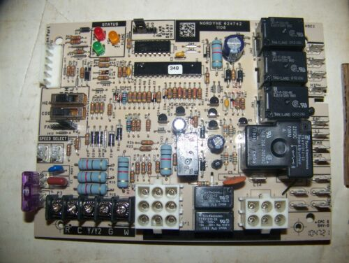 Nordyne Intertherm Miller Gibson 624742 902915 Furnace Control Circuit Board