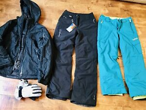 Woman's ski clothing — new and like new