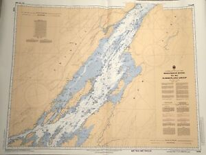 St. Lawrence River nautical charts 1436 and 1437