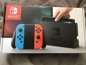 Nintendo SWITCH NEW in it's box.