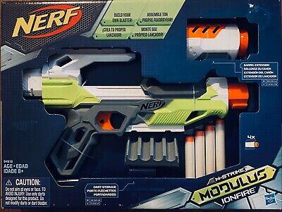 Nerf N-Strike Modulus IonFire Blaster Dart Storage Soft Foam Gun Kids Gift Toy
