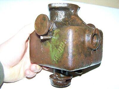 Old Fuller Johnson 3hp Kerosene Engine Mixer Hit Miss Type Steam Tractor Wow
