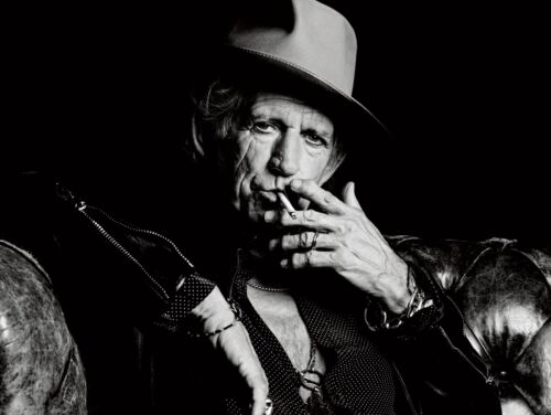 """KEITH RICHARDS 8x10"""" PHOTO THE ROLLING STONES 🎶"""