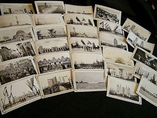 50 LOT~1934 Century of Progress Chicago Fair Candid Photos~DAY & NIGHT SCENES