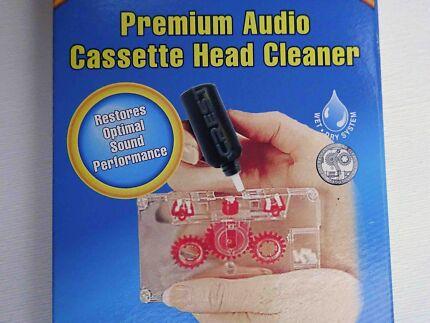 ★ Brand New Audio Cassette Head Cleaner