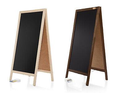 Kundenstopper PN Holz Tafel Aufsteller Werbetafel Holztafel Werbung - Holz Kunde