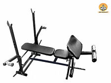 GB Foldable 7 in 1 bench with removable preacher curl
