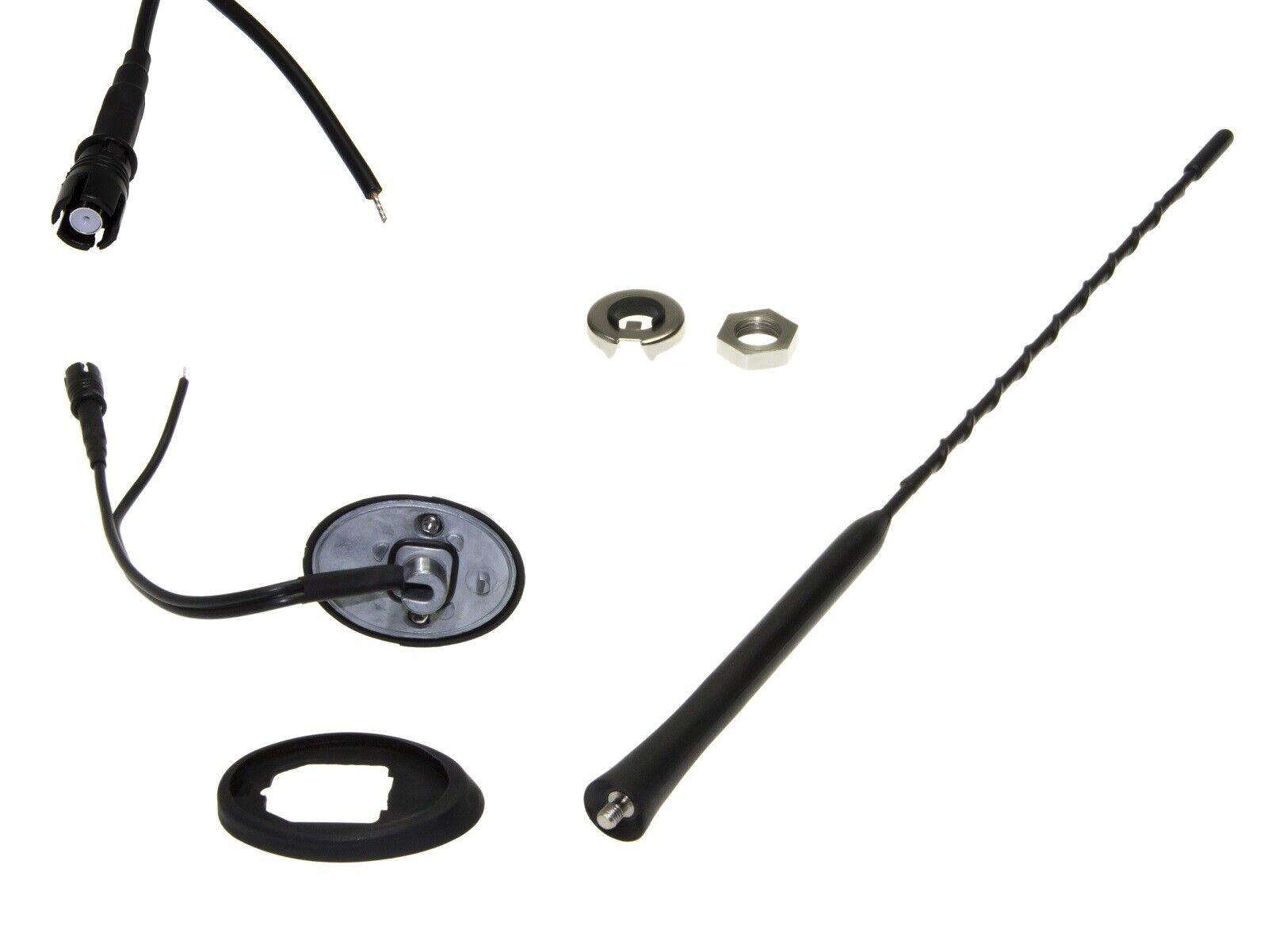 adattatore per Mercedes Benz nero adapter-universe auto tetto piede antenna base Raku 2/Triplex amplificatore