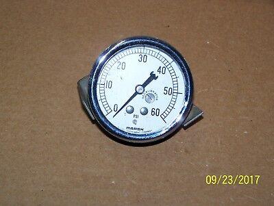 Marsh-tuttnauer-2 58 Inch Pressure Gauge- 0-60 Psi Autoclave Sterilizer