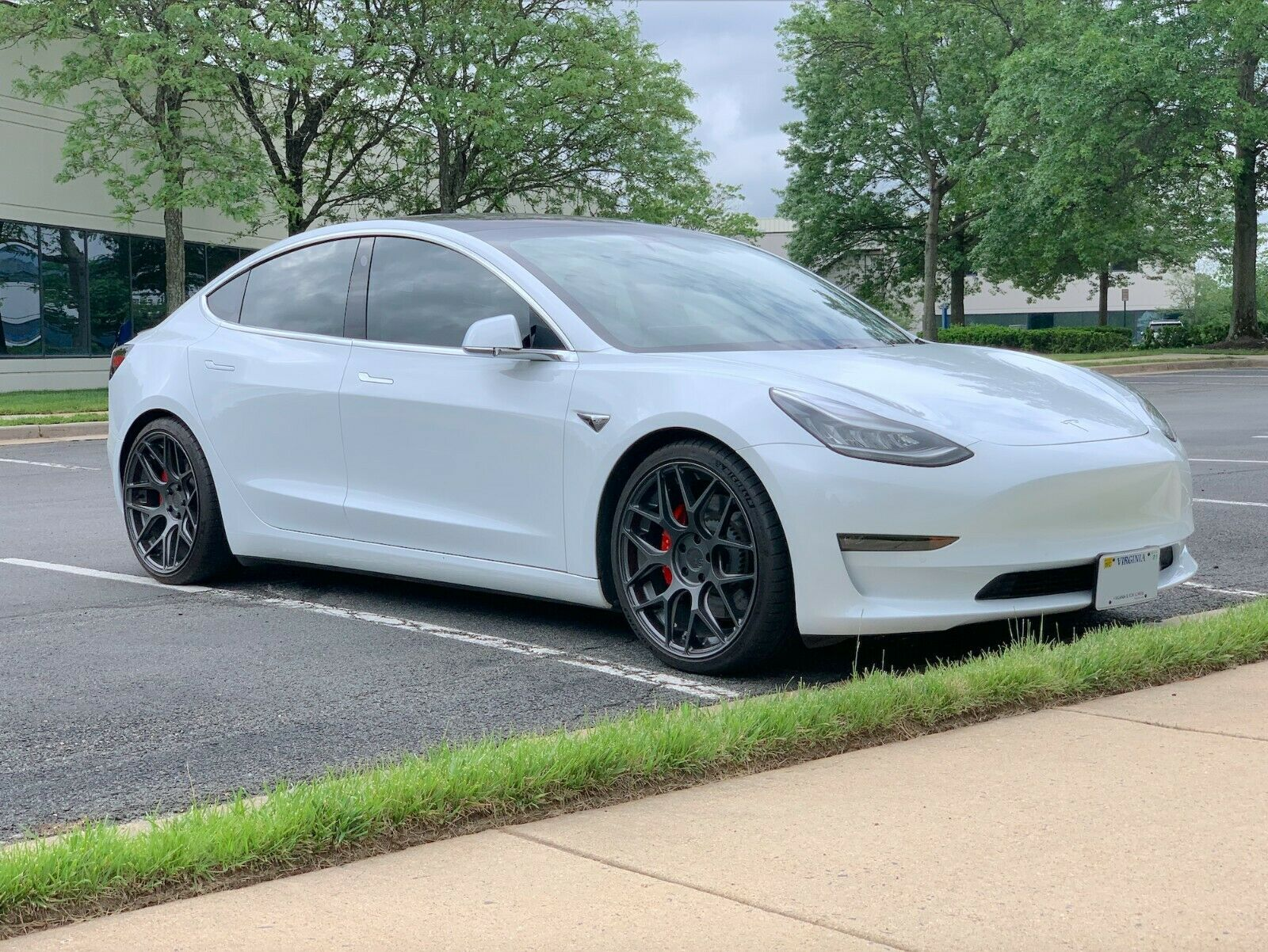 2018 Tesla Model 3 White Performance Plus - Enhanced Auto Pilot
