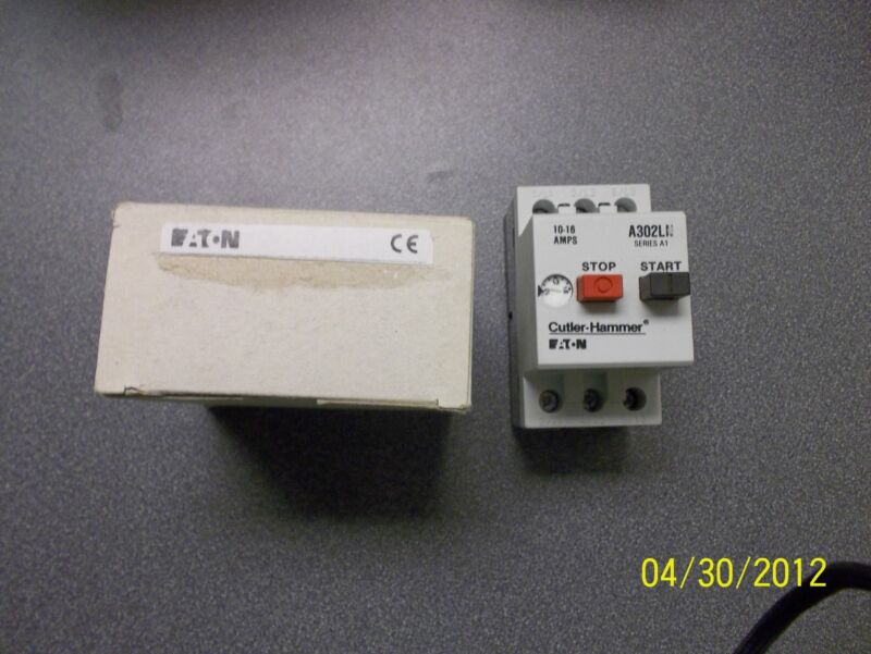 Eaton Cutler Hammer contactor A3020N 10-16amp start stop