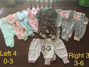 0-6 month Girl Clothes