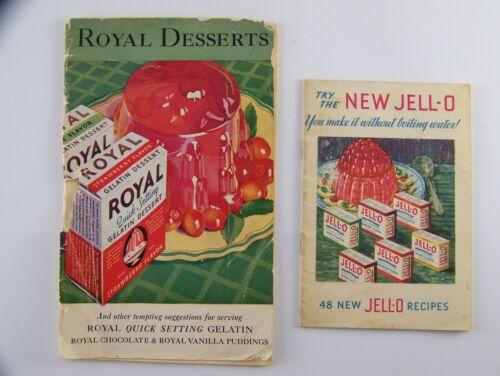 Vintage 1932 Recipe Books ~ Royal Gelatin Dessert ~ New Jell-O