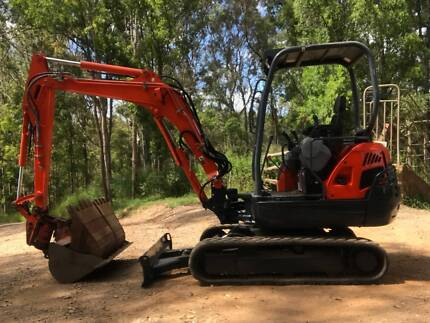 Excavator Kubota KX91-3 Super Series