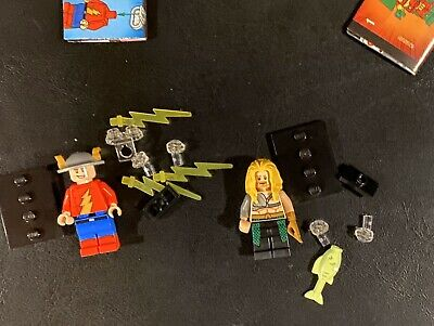 JAY GARRICK FLASH & AQUAMAN  - LEGO DC Minifigure Lot