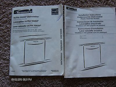 Kenmore Brands - KENMORE ULTRA WASH DISHWASHER INSTALLATION & PRODUCT GUIDE 2006 SEARS BRANDS