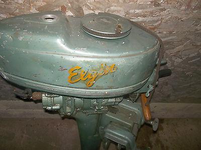 Elgin vintage  Elgin serial #842-7087 boat motor 195?