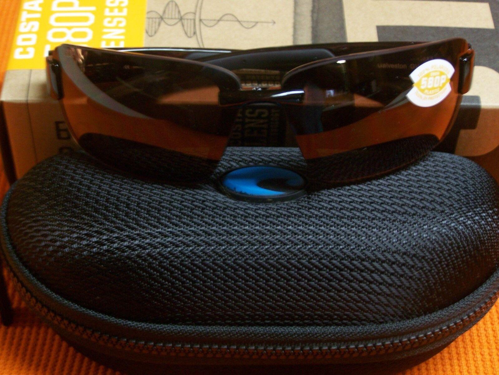 f7e56134cb5 ... UPC 097963485968 product image for Authentic Costa Del Mar Galveston  Tortoise Copper 580p Polarized Sunglasses ...