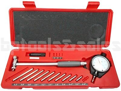 "ENGINE CYLINDER 2"" to 6"" DIAL BORE GAUGE GAGE INDICATOR RESOLUTION 0.0005"""