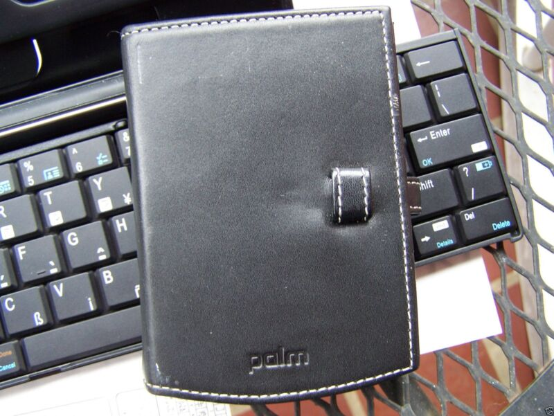 PalmOne Palm Tungsten Slim Leather Case PDA - P10985U - For E2, E, Zire Series