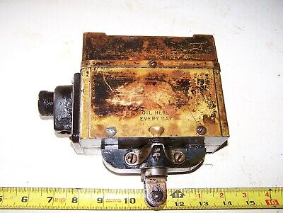 Old Wico Pr Hit Miss Gas Engine Magneto Oiler Steam Tractor Motor Antique Hot