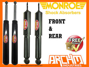 HOLDEN-VQ-SEDAN-3-90-9-94-F-R-MONROE-GT-GAS-SHOCK-ABSORBERS