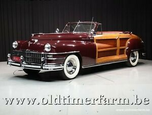 Chrysler Town and Country 2 door Convertible '48