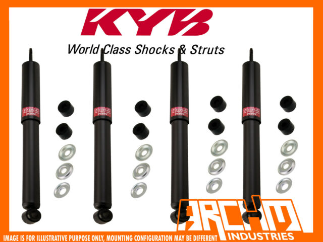 MITSUBISHI PAJERO NS LWB 11/2006-01/2009 FRONT & REAR KYB SHOCK ABSORBERS