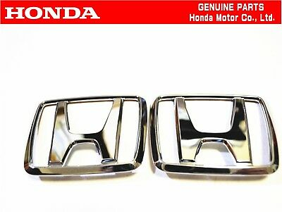 HONDA EF9 CIVIC SIR Front & Rear Genuine Badge Emblem hatchback JDM  OEM