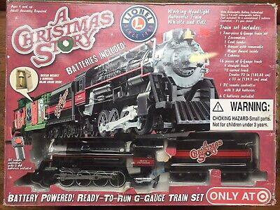 "Lionel ""A Christmas Story"" G Gauge Train Set, A 2009 Original Exclusive"