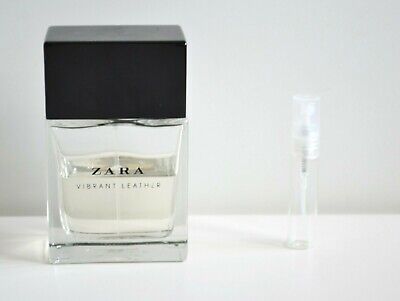 Zara Vibrant Leather 2016 *5 ML SAMPLE SIZE DECANT ATOMIZER VIAL*