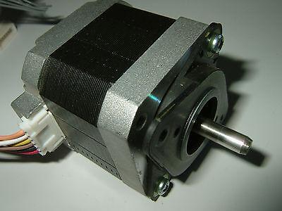 NEW Nema 17 Stepper motor 76oz//in w//FLAT CNC Robot Reprap Makerbot  Arduino 11V