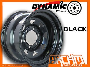 ONE-BLACK-4X4-DYNAMIC-SUNRAYSIA-WHEELS-WHEELS-16X8-6-139-7-4WD-RIM-PATROL-HILUX