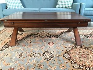 Coffee Table Solid, All Natural Wood