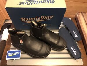 new BLUNDSTONE /GREENPATCH CSA SAFETY BOOT BLACK size 5 Ausie