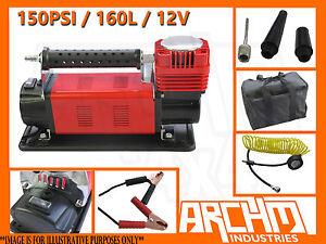 ARCHM4X4-HEAVY-DUTY-AIR-COMPRESSOR-160L-MIN-12V-CAR-CARAVAN-TYRE-INFLATOR