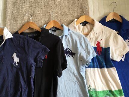 Assorted Men's Ralph Lauren Polo Shirts