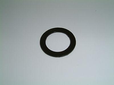20 Black Nylon Washers 22.2mm O/D X 15.1mm I/D X 0.8mm Thk