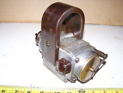 Eisemann Gl1 Gl-1 Cylinder Hit Miss Gas Engine Magneto Steam Tractor Oiler Hot
